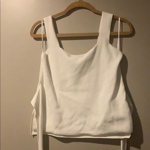 Anthropologie tank belted